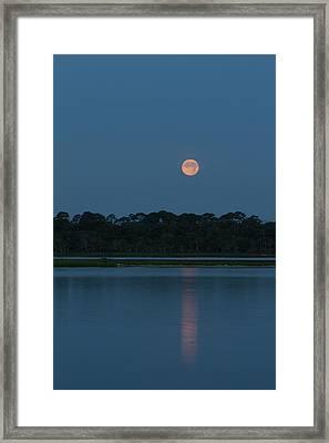 Supermoon Dawn 2013 #2 Framed Print