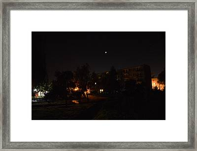 Supermoon Framed Print by Henryk Gorecki