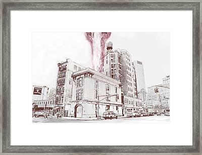 Supernatural Insurance Claim Framed Print by Kurt Ramschissel