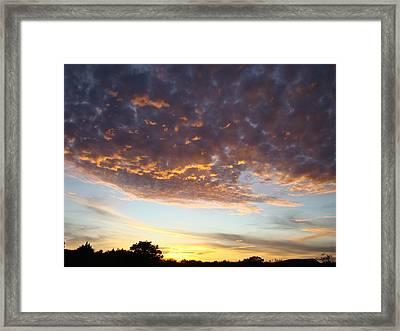 Supernatural Sunset Two Framed Print by Ana Villaronga