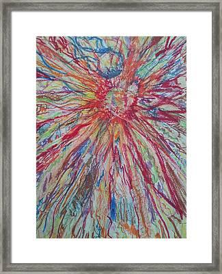 Supernova Apocalypse Framed Print by William Douglas