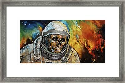 Supernova Framed Print by Michael Creese
