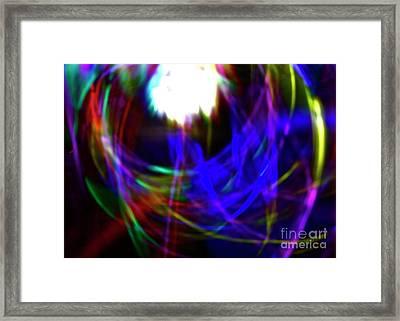 Supernova Framed Print by Xn Tyler