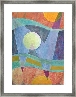 Superposition II Framed Print by Jennifer Baird
