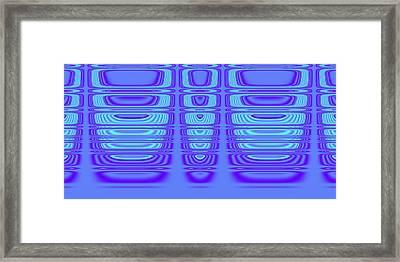 Superposition Of Trigonometric Curves No 002 Framed Print