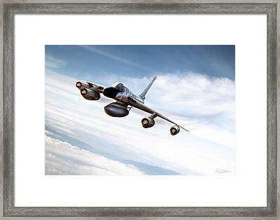 Supersonic Sensation Framed Print by Peter Chilelli