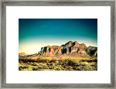 Superstitions Framed Print by Arne Hansen
