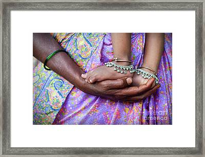 Supporting Framed Print
