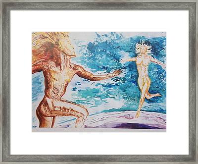 Supreme Framed Print by Contemporary Michael Angelo