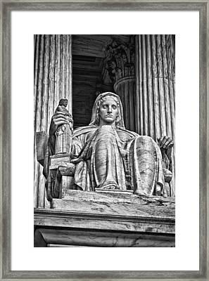 Supreme Court Building 13 Framed Print by Val Black Russian Tourchin