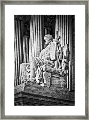 Supreme Court Building 4 Framed Print by Val Black Russian Tourchin