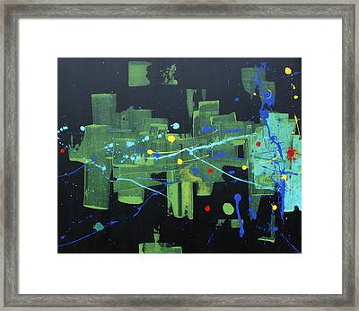 Supreme Dominance Framed Print by John Wesley