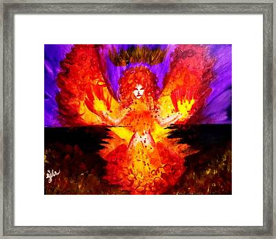 Supreme Seraphim  Framed Print