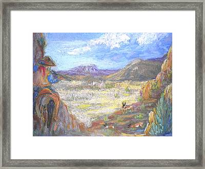 Suprise Attack Framed Print by Curt Peifley
