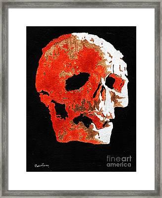 What Lies Beneath Framed Print by Callan Percy