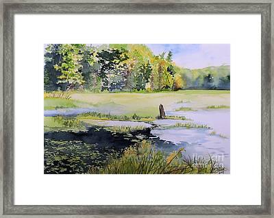 Sur Le Chemin Eardley Framed Print