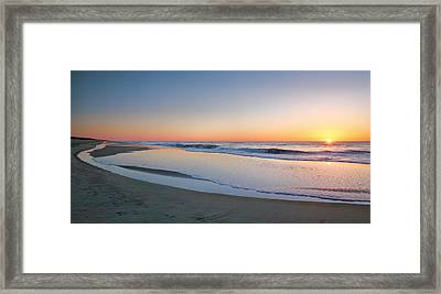 Surf And Sand II  Framed Print by Steven Ainsworth