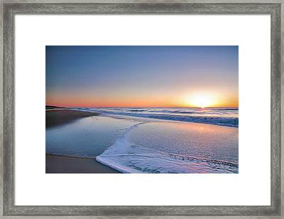 Surf And Sand IIi Framed Print by Steven Ainsworth