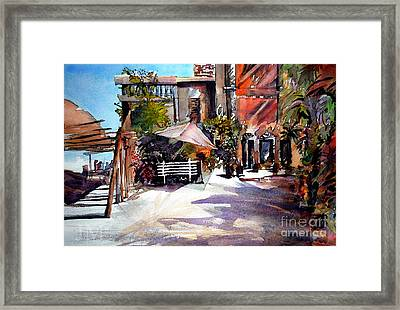 Surf Camp Framed Print