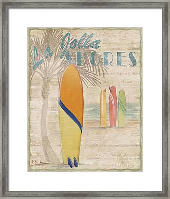 Surf City IIi Framed Print