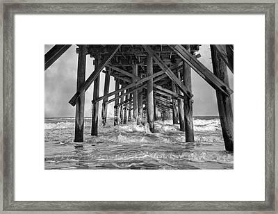 Jolly Roger Pier A Dreamer's Day Framed Print by Betsy Knapp