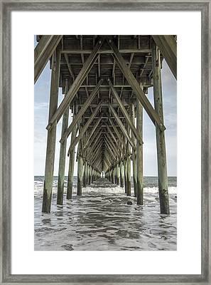 Surf City Pier Classic Framed Print