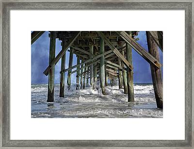 Spirited Splash Framed Print by Betsy Knapp