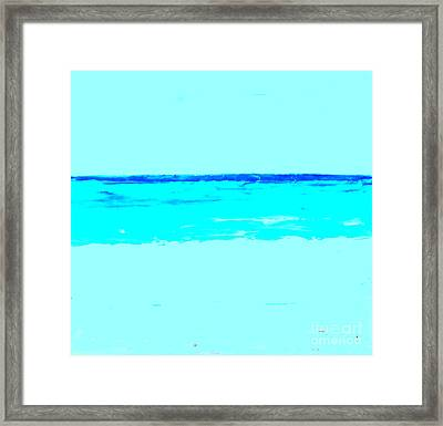 Surf Framed Print by Fred Wilson