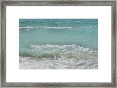 Surf Framed Print by JAMART Photography