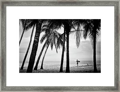 Surf Mates 2 Framed Print