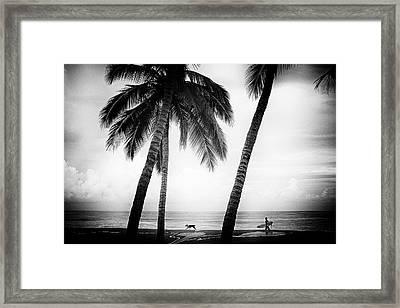 Surf Mates Framed Print