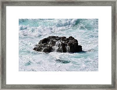 Surf No. 134-1 Framed Print by Sandy Taylor