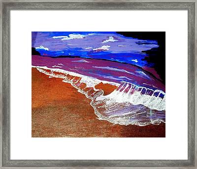 Surf Of Love 1 Framed Print