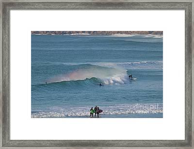 Surf Rainbow Framed Print by Terri Waters