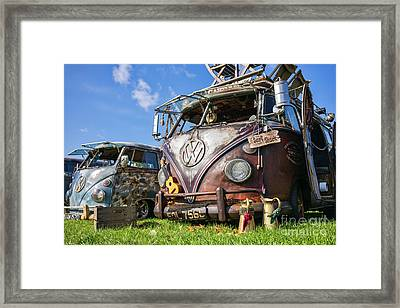 Surf Shack Framed Print