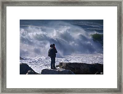 Surf Watcher Framed Print