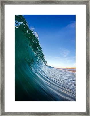 Surface Framed Print by Sean Foster