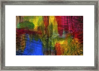 Surfacing Framed Print