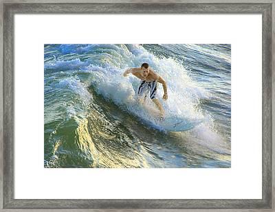Surfer 5699 Framed Print by Francesa Miller