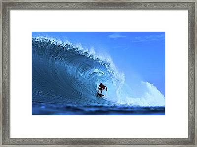 Framed Print featuring the photograph Surfer Boy by Movie Poster Prints