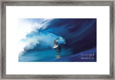 Surfers Playground Framed Print by Anthony Fishburne