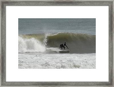 Surfing 113 Framed Print by Joyce StJames