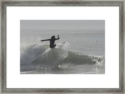 Surfing 114 Framed Print by Joyce StJames