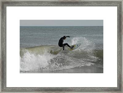Surfing 115 Framed Print by Joyce StJames