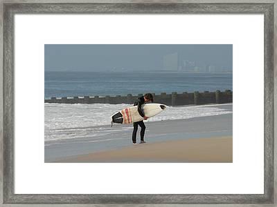 Surfing 116 Framed Print by Joyce StJames