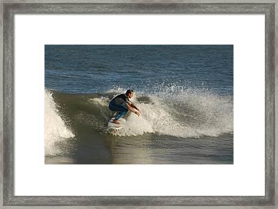 Surfing 126 Framed Print by Joyce StJames