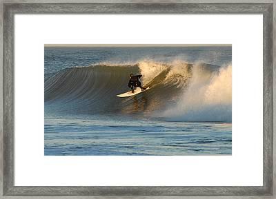 Surfing 80 Framed Print by Joyce StJames