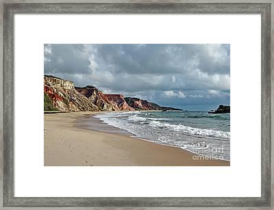 Surfing Paradise - Brazil Framed Print