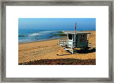 Surfrider 4th Framed Print