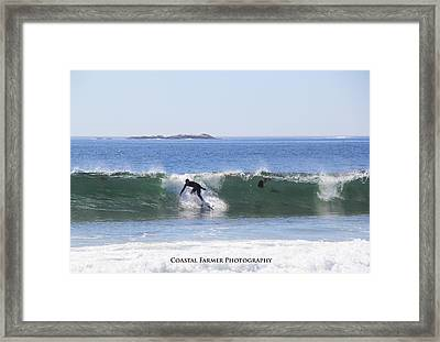 Surfs Up Framed Print by Becca Brann